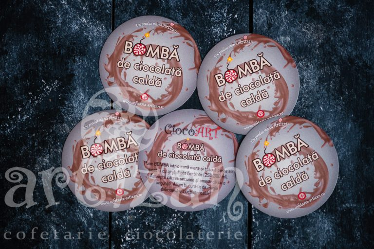 Bombă de ciocolată caldă – ediție Christmas 1