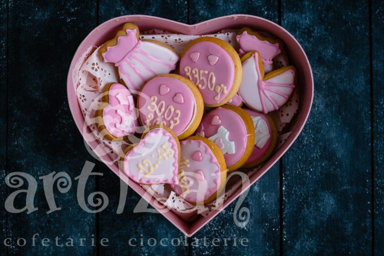 Cutie cadou cu turtă dulce 1