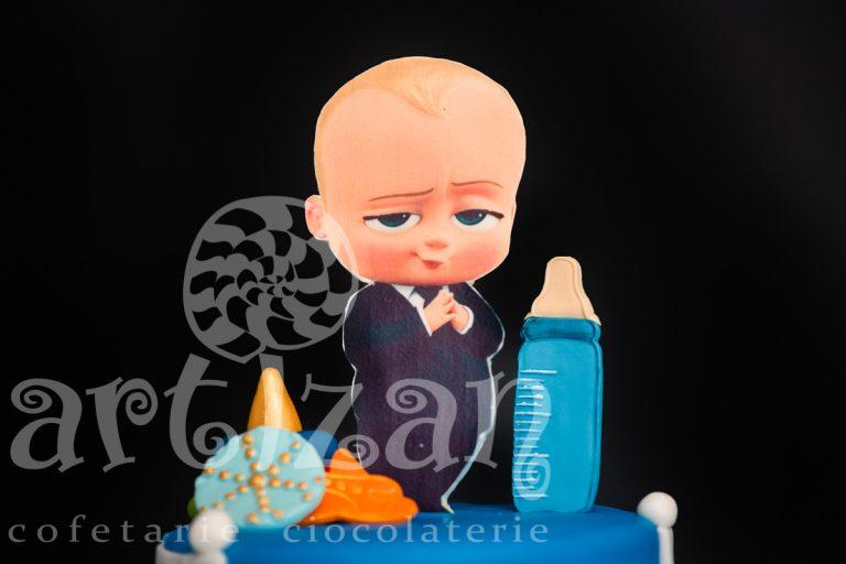 """Tort de Botez """"Baby Boss"""" 1"""